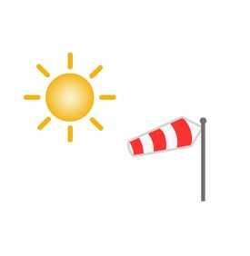 Voile losange pour soleil et vent