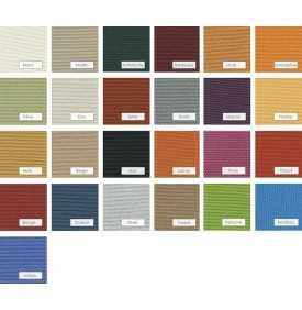 Vingt-six couleurs de voile tendue