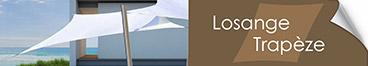 La voile losange ou trapèze