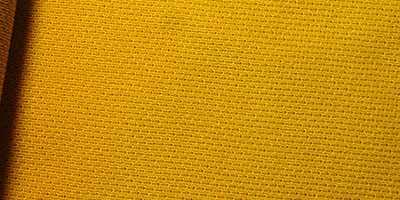 Voile Easy Sail en polyester extensible de couleur jaune ocre