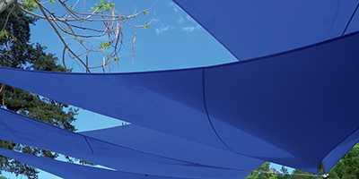 Multivoiles bleues