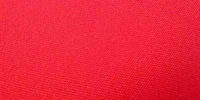 Textile en acrylique rouge pour toile
