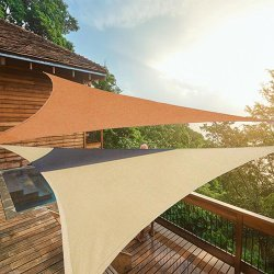 Voile tendue triangle