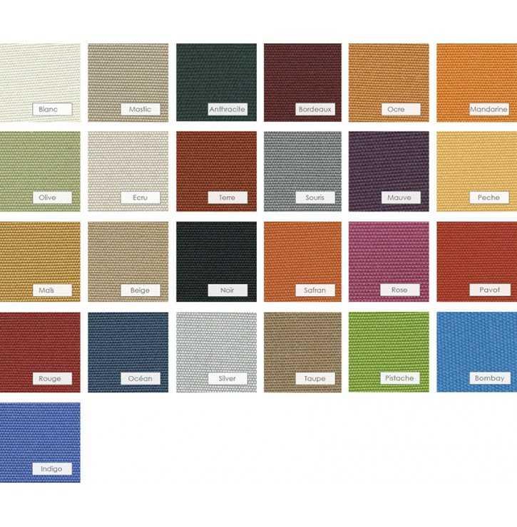 Textures et couleurs de voiles